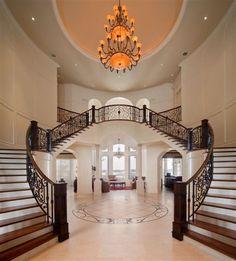 wonderful foyer