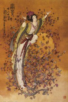 Kuan Yin, the Goddess of Compassion.