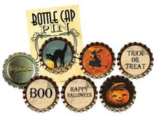 bottlecap ornaments & pins
