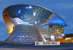 BMW Welt- Coop Himmelb(l)au all of the yes