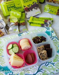 Back to School Healthy Lunchbox Ideas | packed in @EasyLunchboxes containers