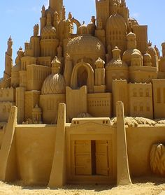 sand palace to cool to be true!