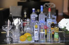 the basics for creating your own bar