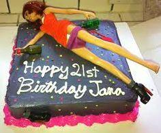 barbie cake 21st