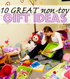 YES!! Stop giving kids so many toys for Christmas and birthdays! This has great ideas!