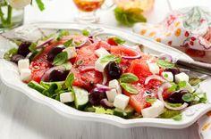 Creamy Watermelon Salad