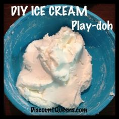 DIY Ice Cream Play Doh!!!!!!  Photo
