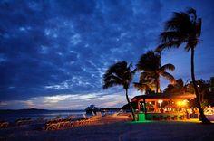 Sunset view of Palomino Island.  El Conquistador Resort & Las Casitas Village. Puerto Rico  ElConResort.com