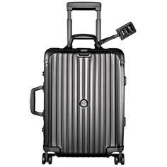 Moncler and Rimowa suitcase  www.selfridges.com