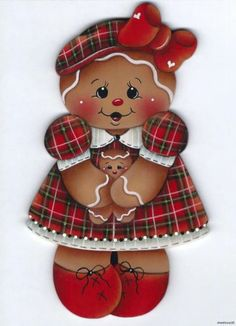 artists, gingerbread girl, baby patterns, gingerbread craft, ebay, hous, gingerbread paint, magnet, painting patterns