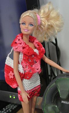 Ravelry: completo corto di Barbie pattern by anna maria = free
