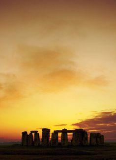 Stonehenge at sunset | England