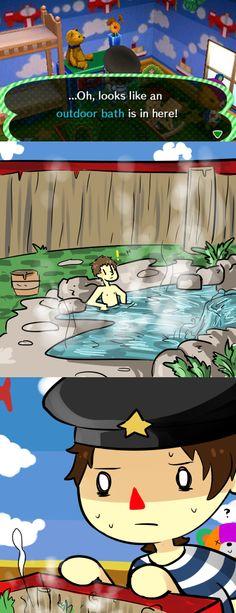 Animal Crossing Comic.
