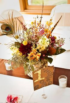 Fall Wedding Centerpieces | Wedding Ideas | Brides.com