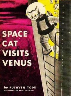 there are at a total of four Space Cat books that were originally published between 1952 and 1958