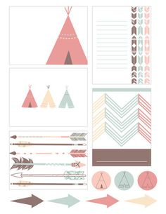 adorable FREE Project Life printables!! Free Journaling Cards
