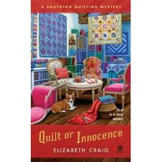 The first of the Southern Quilting mysteries launches in June 2012. quilt mysteri, elizabeth craig, folk art, mystery books, quilts, quilting, innoc, southern quilt, cozi mysteri
