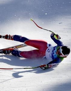 The fall - Winter Olympics 2010