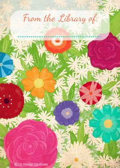 Download: Summer Garden Printable Bookplates — Stephanie Fizer Coleman - children's illustrator & licensed artist