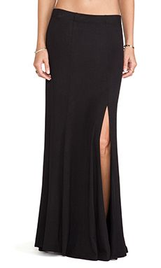 Eight Sixty Maxi Skirt in Black