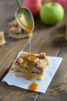 Caramel Apple Pie Ba