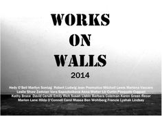 "Leslie Shaw Zadoian. ""Works on Walls"" Group show at Cater Burden Gallery. May 29-June 19th, 2014."