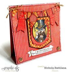 "Hogwarts house cards ""Gryffindor"" - Nichola Battilana"