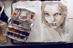 Kimberly Gordon watercolors