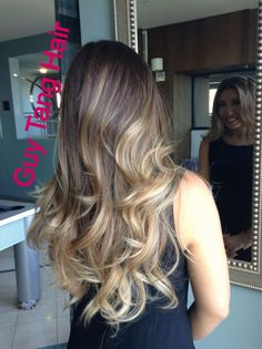 Ombré lights on Asian hair by Guy Tang