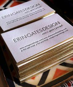 @Erin B Gates business cards #Elementsof Style