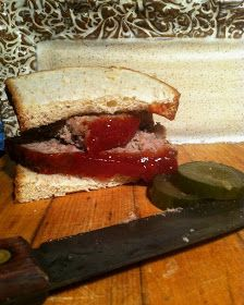 Meat Loaf Sandwiches - So Delicious!