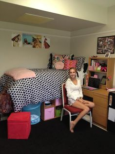 an incoming college sophomore shares everything you could ever want to know about residence hall room decor and organization