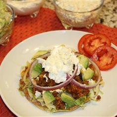 Tostadas are one of my favorite Mexican comfort food. They are delicious to eat any time of the day. Easy to put together but very reach and full of flavor. The original recipe uses ground beef but I substituted it for Johnsonville mild Italian sausage and it was really good. The name of the original recipe from Allrecipes is Chipotle beef Tostadas#AllstarsJville #JvilleKitchens#fallChipotle Beef Tostadashttp://images.media-allrecipes.com/userphotos/250x250/01/58/53/1585313.jpg