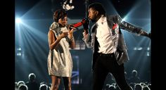 Estelle and Kanye West | GRAMMY.com