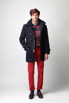 Blaine likes red.