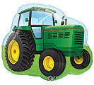 "John Deere TOY TRACTOR Balloon 34"" Farm Party Birthday 