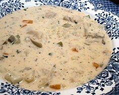 CREAM OF CHICKEN SOUP - Linda's Low Carb Menus & Recipes