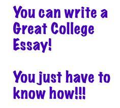personal goal essays