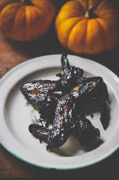 Trick or Treat Week: Bat Wings #recipe #food #halloween