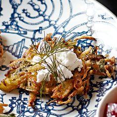 Zucchini Latkes with