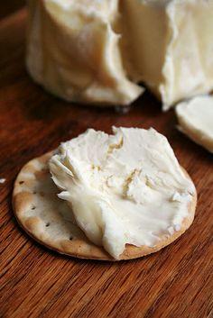 Delice de Bourgogne — triple creme cheese...so good!