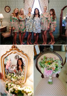 bridesmaid robes - great gifts for your girls.