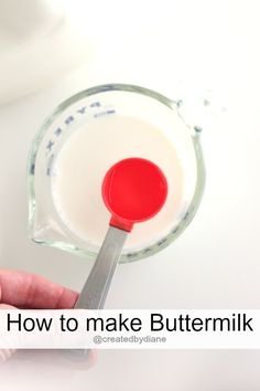 How to make Buttermi