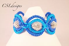 Double circle macrame bracelet
