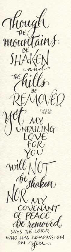 Isaiah 54:10-beautiful