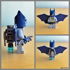 Batman with jetpack