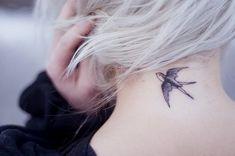 #bird, #neck, #tattoo