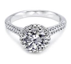 Tacori Engagement Rings - The Dantela Collection