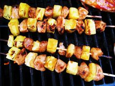 Chicken Pineapple kabobs