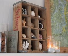 5 DIY::  Beautiful Shadow Boxes-Each with it's own tutorial